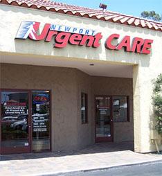Newport Urgent Care exterior